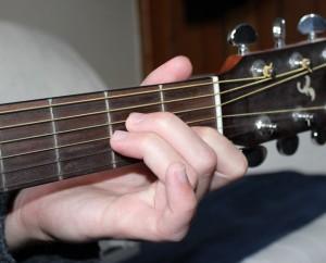 Am chord photo