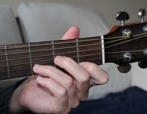 Dm chord photo