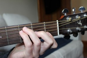 F chord hybrid photo
