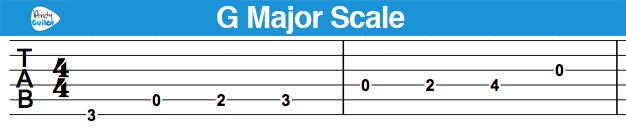 g-maj-scale