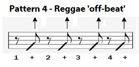 Pattern 4 off beat