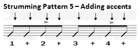 Pattern 5 Accents