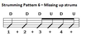 Pattern 6 Missing ups