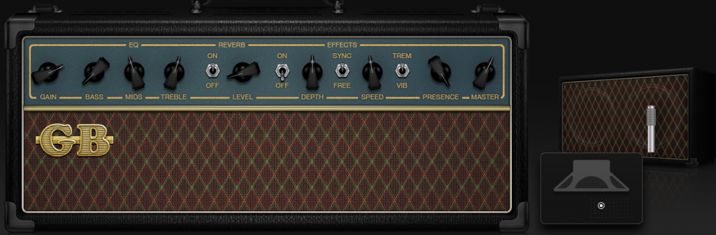 U2 Amp settings 1