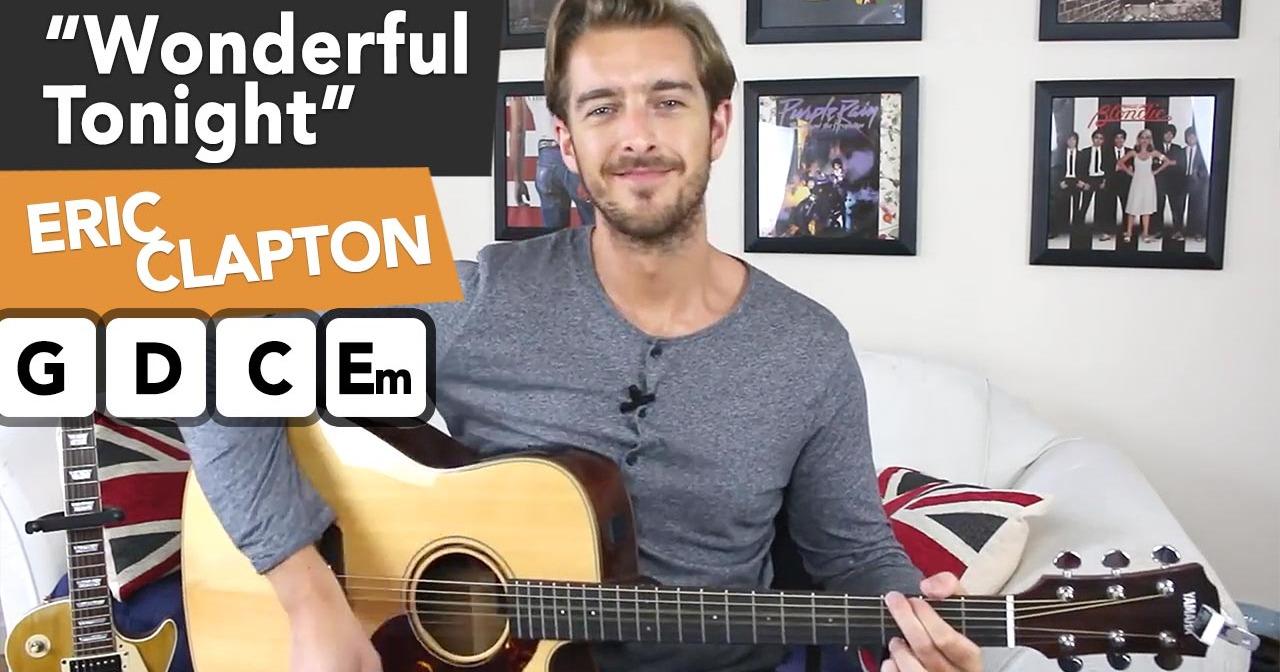 Chords clapton wonderful tonight Eric Clapton
